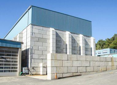 Sortier- und Lagerhalle im AKS Verwertungspark